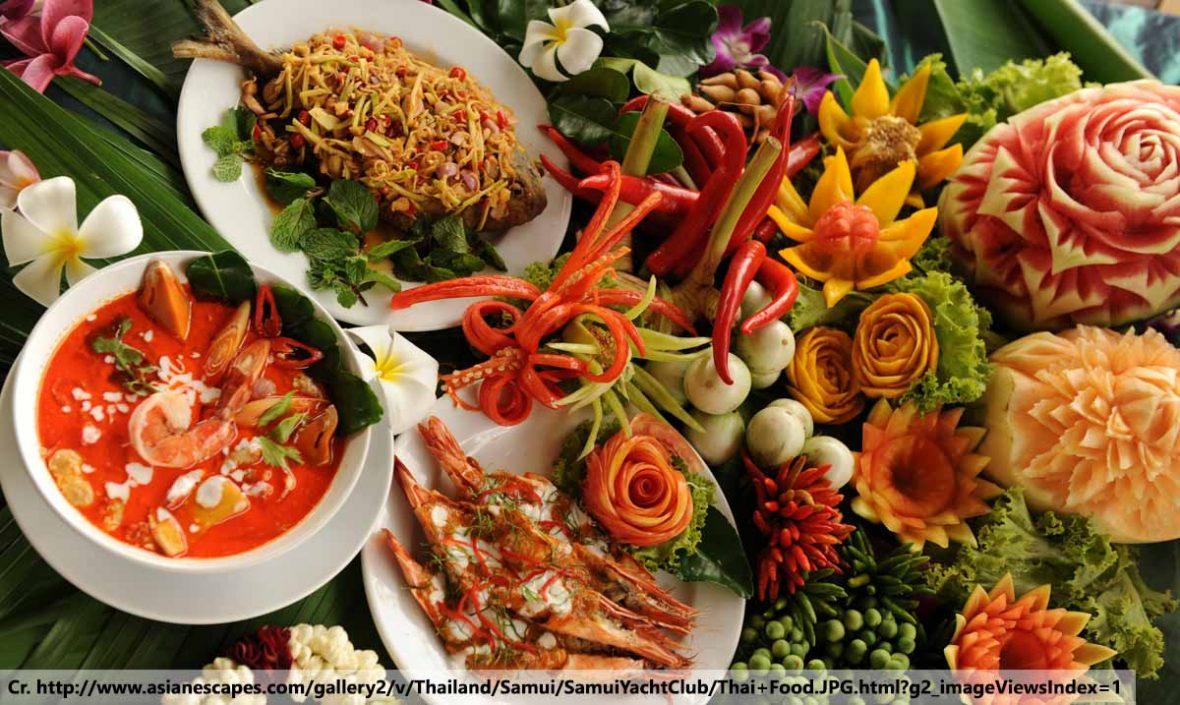 Thai food, อาหารไทย, ตำรับชาววัง, ร้านอาหารโอลด์ สยาม