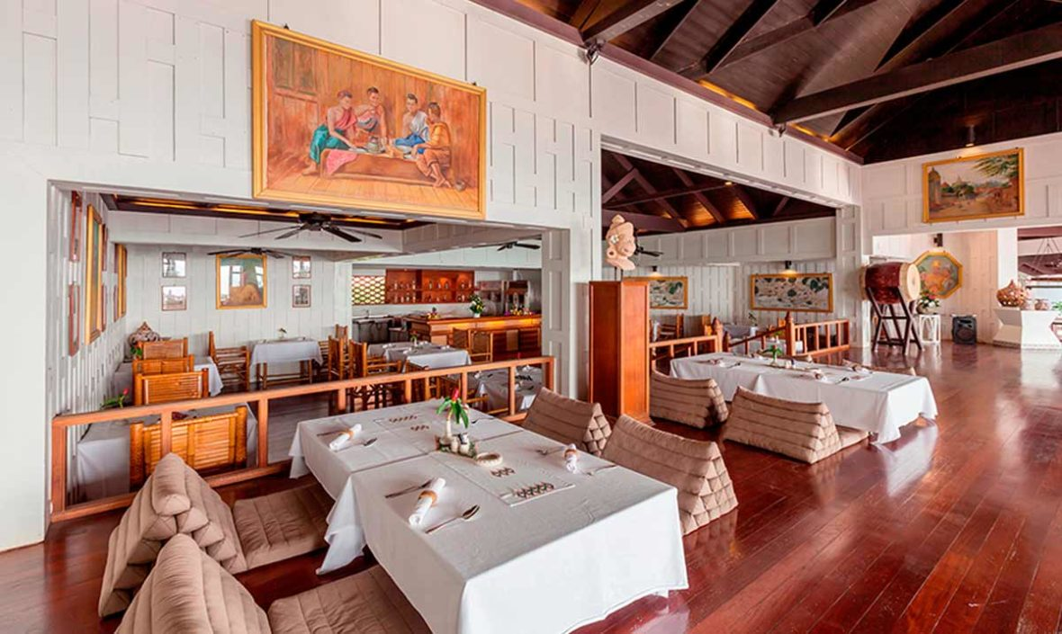 old siam restaurant, dining in phuket