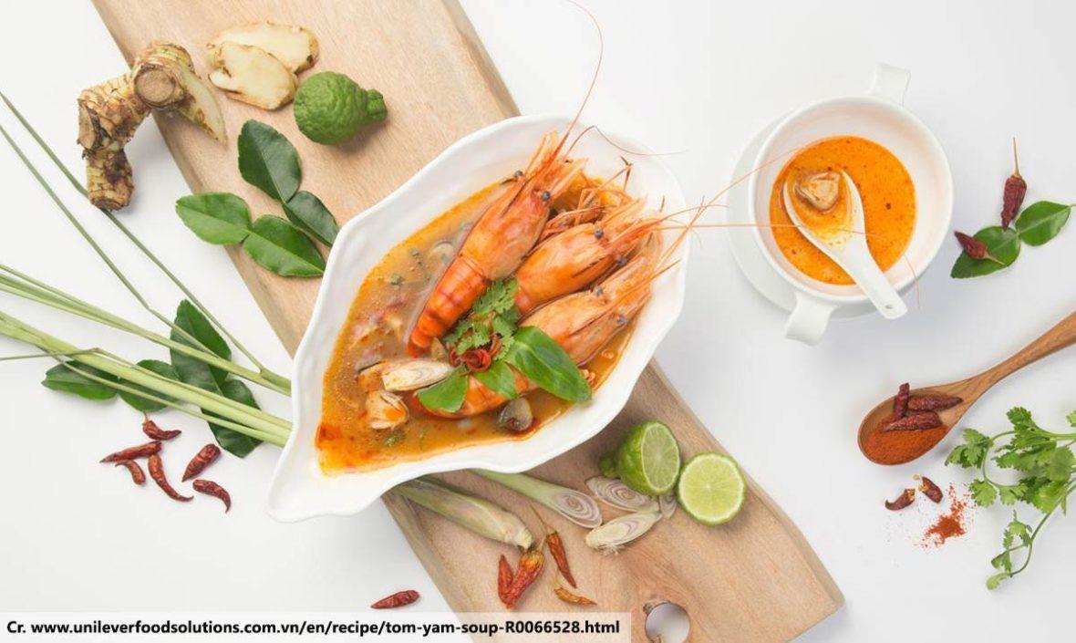 Tom Yum Gung, Thai food
