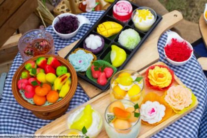 ขนมไทย, ขนมไทยโบราณ, ขนมไทยหาทานยาก, ร้านอาหารไทยในภูเก็ต